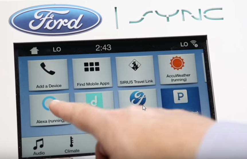 Alexa for Ford